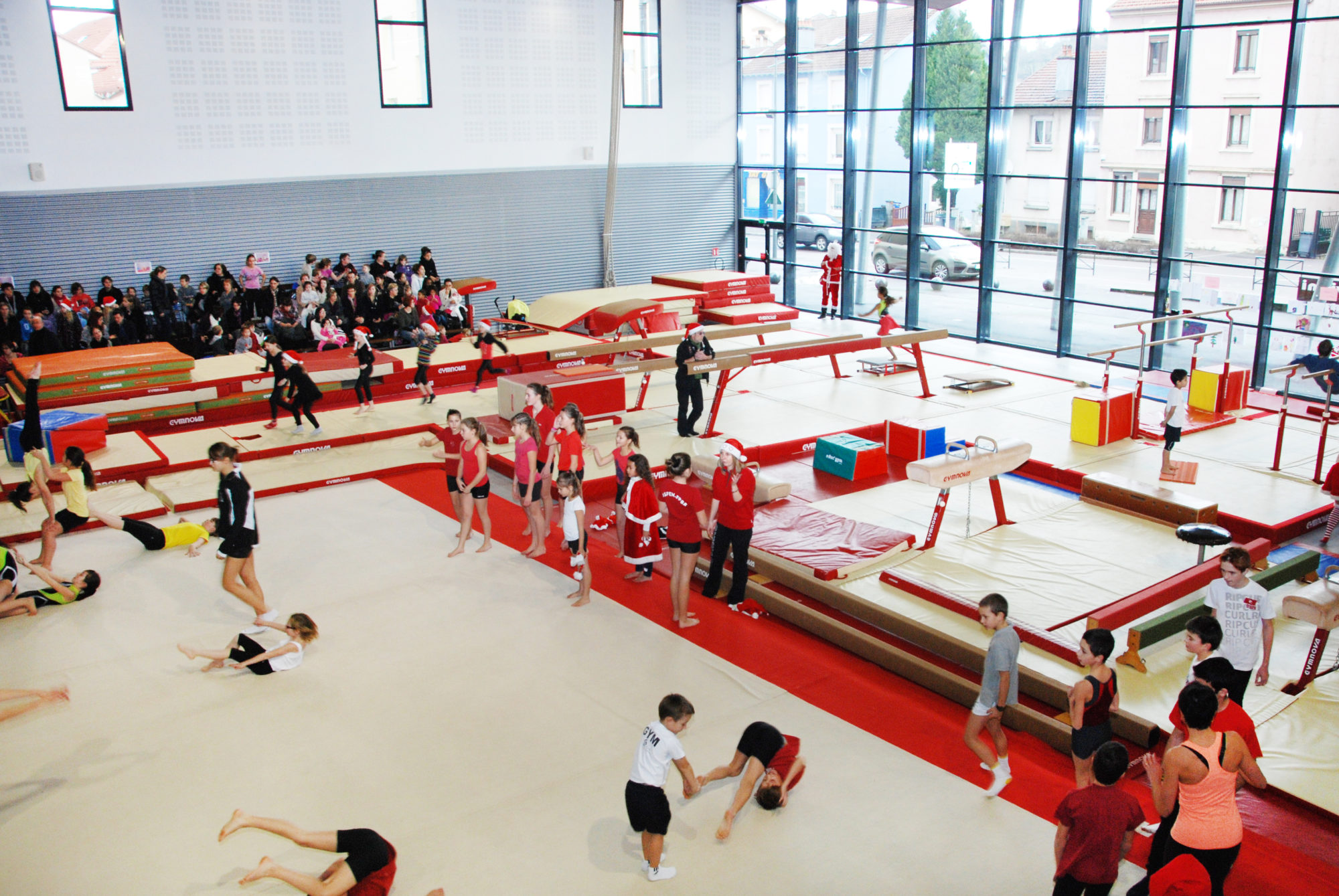 Terre de Jeux 2024 : Focus sur le gymnase Viviani et la salle de gymnastique