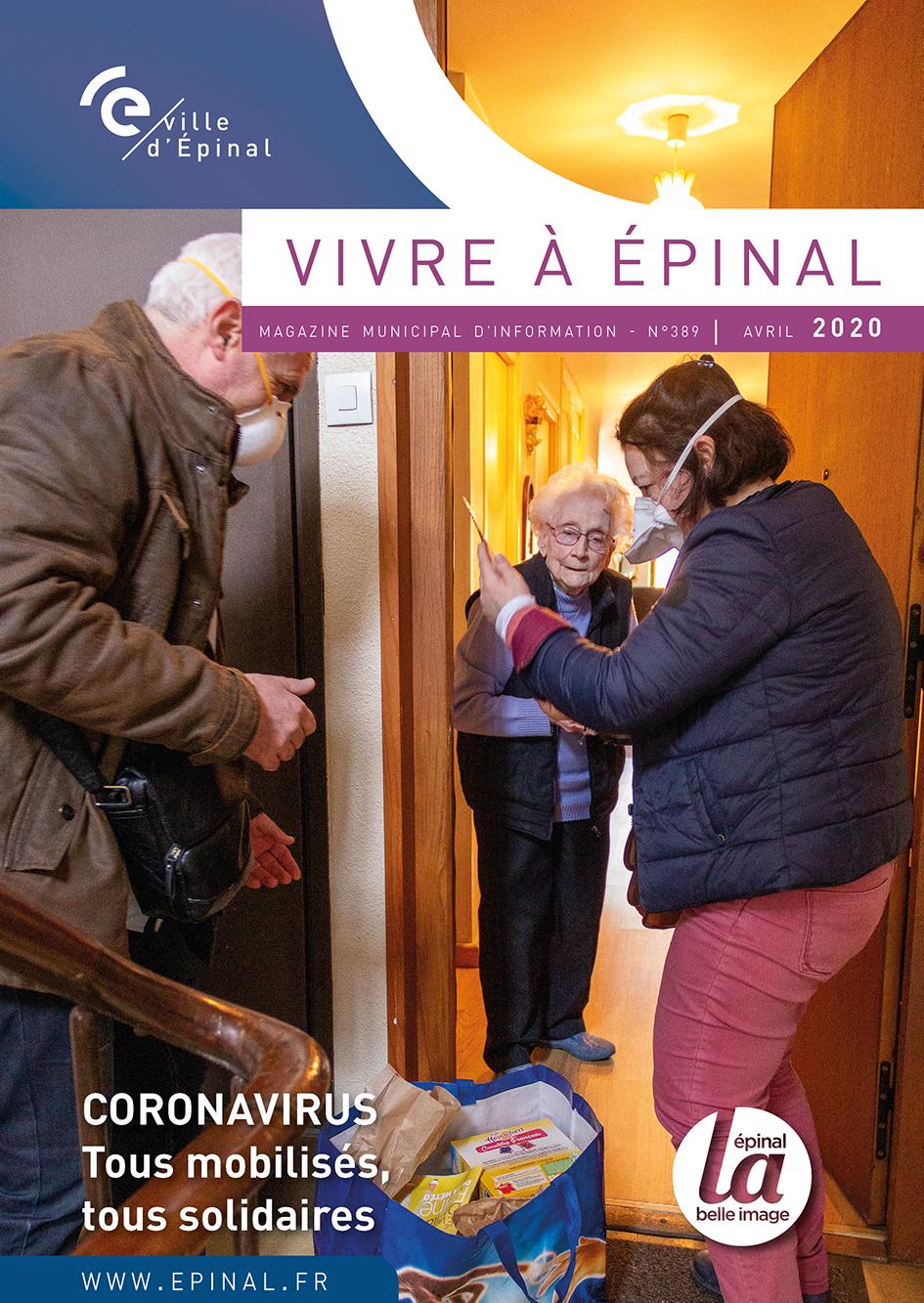 Le magazine Vivre à Epinal est en ligne