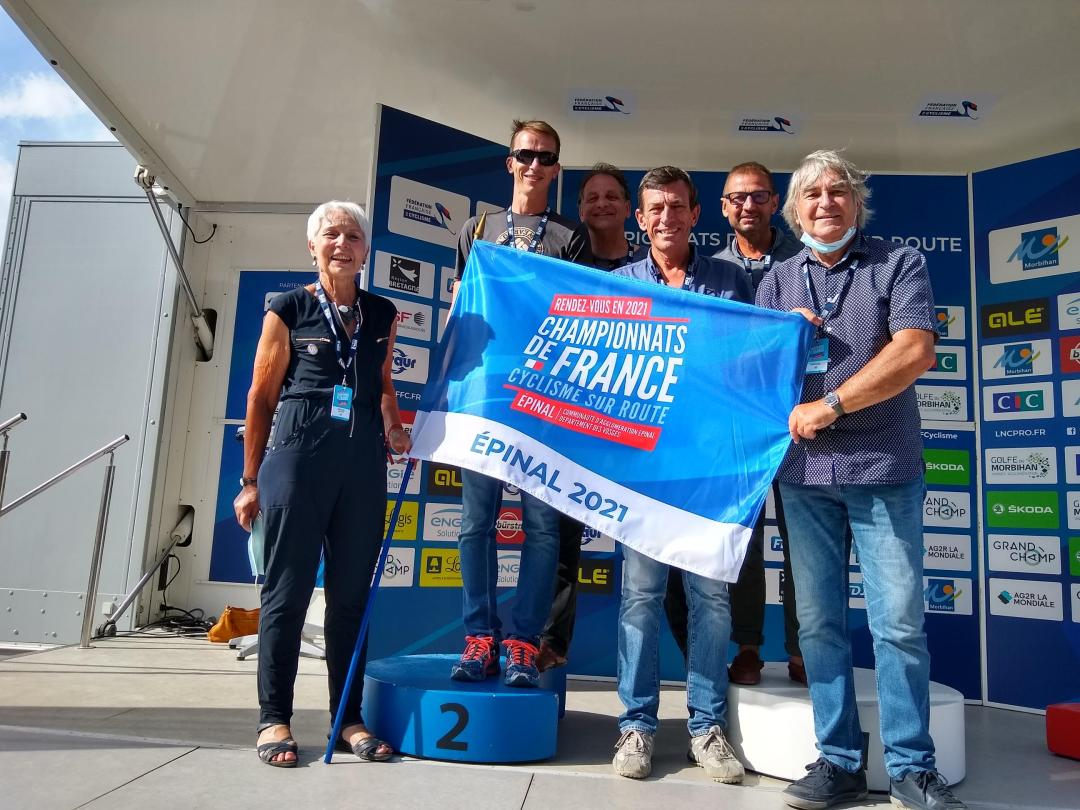 Épinal accueillera les championnats de France de cyclisme sur route en juin 2021