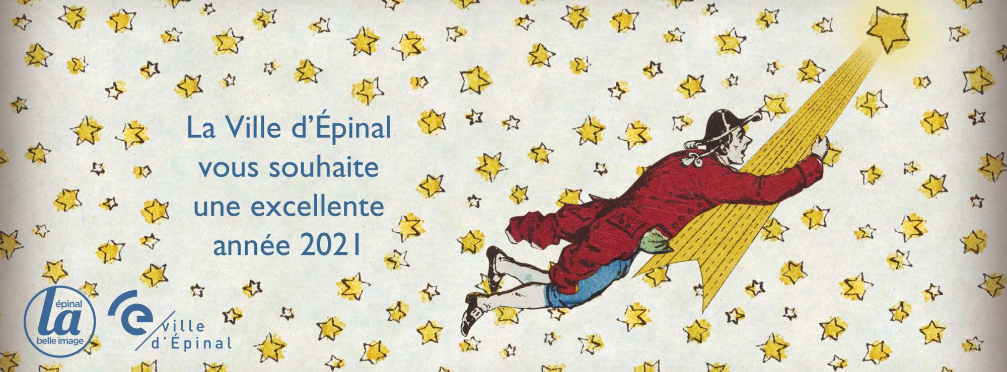 La Ville d'Épinal vous souhaite une bonne année 2021 !