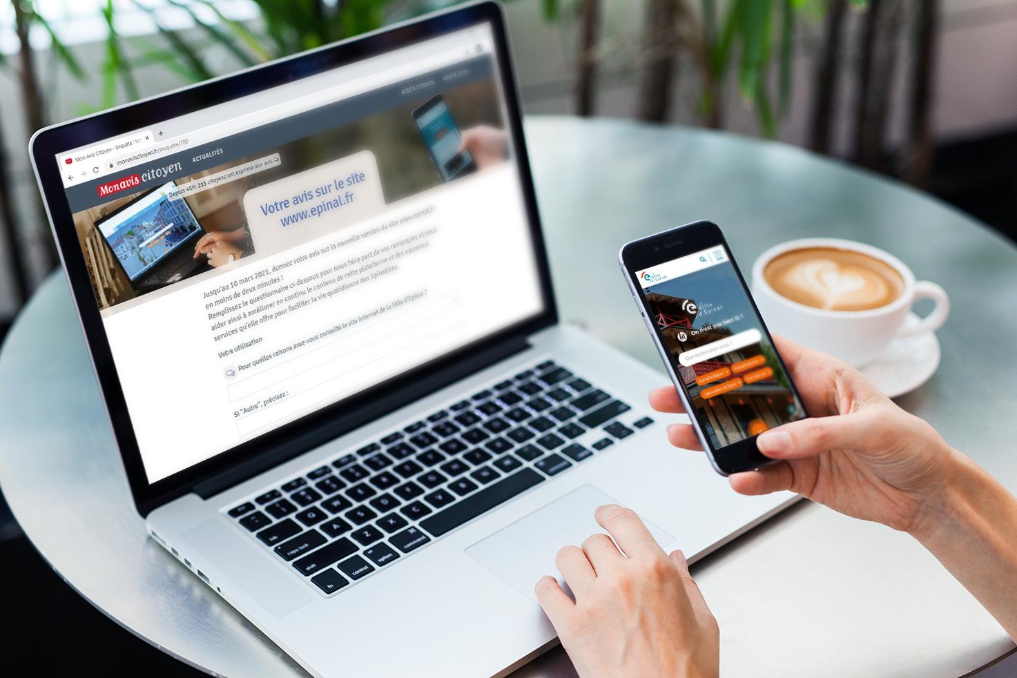 Donnez votre avis sur le nouveau site internet www.epinal.fr !