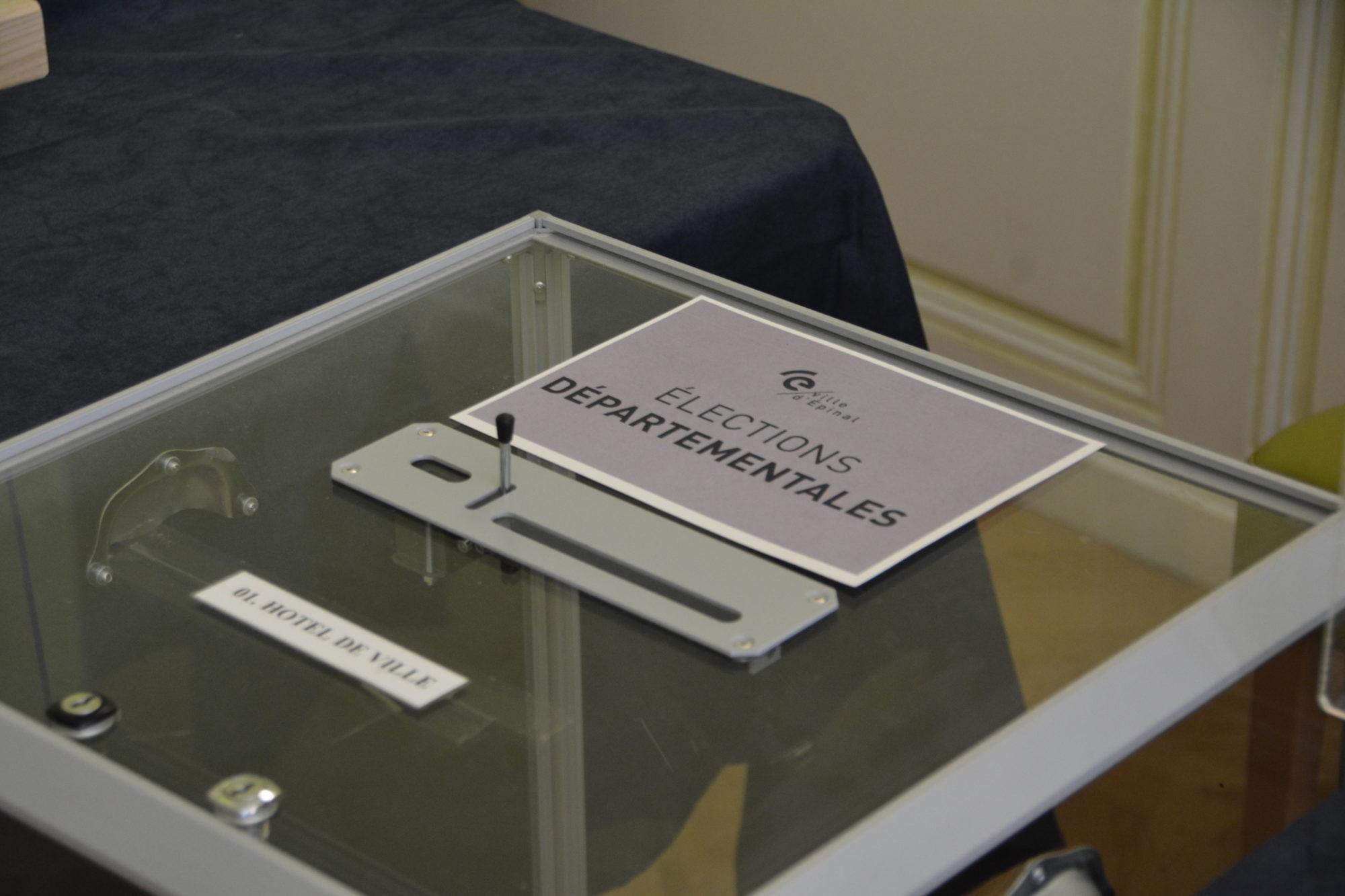 Élections départementales et régionales 2021 à Épinal