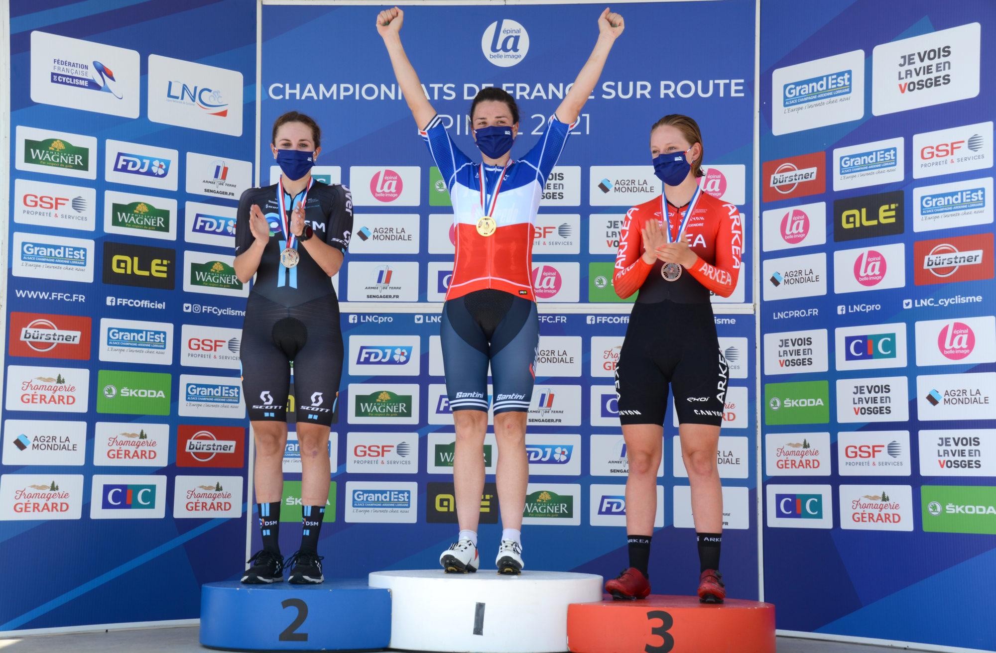 Championnats de France de cyclisme sur route : retour en images sur 4 jours d'épreuves et d'émotions