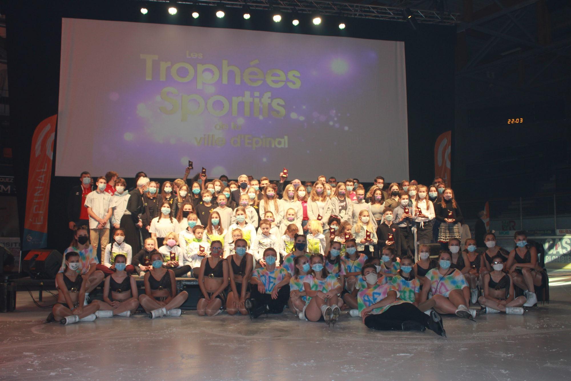 Trophées sportifs 2021 : les récompenses et reconnaissances du sport associatif spinalien