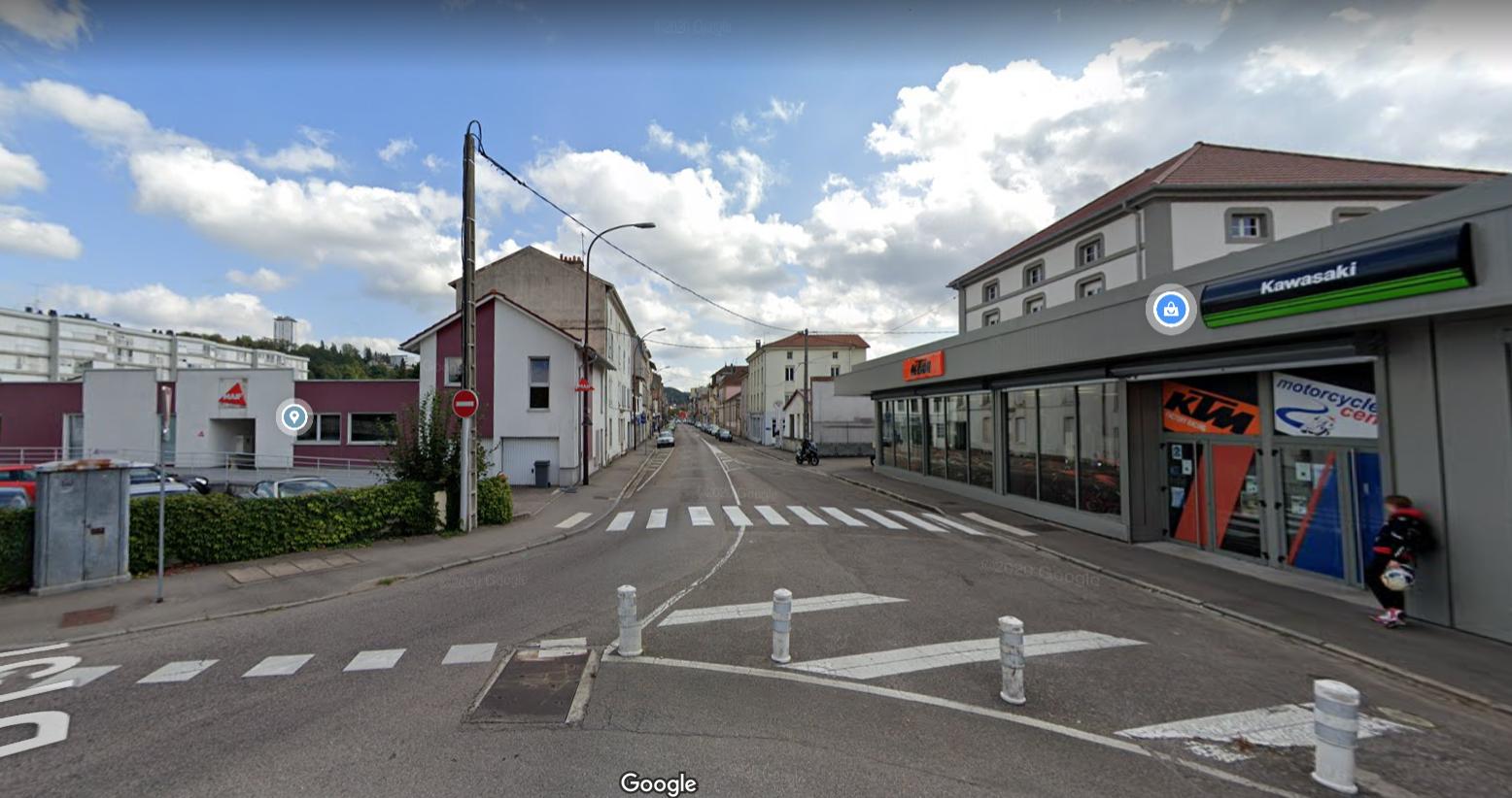 Des travaux prévus rue de Nancy à compter du 18 octobre 2021